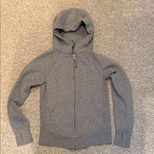 Lululemon Gray Zip Up Jacket/Hoodie